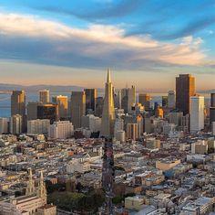 San Francisco by @2ndfloorguy #sanfrancisco #sf