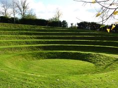 Grass Amphitheater Design | Photograph © Great Fosters Hotel Photograph © Great Fosters Hotel
