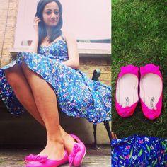How I love neom combination ❤️#dress from #joythestore  #modaonthego #thereisalovestorybetweenagirlandherdress