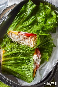 Turkey & Cheddar Lettuce Wraps Crispy green lettuce leaves hold the filling inside this low-carb turkey wrap. It's perfect for lunch or a quick, easy dinner on the go. Budget Freezer Meals, Cooking On A Budget, Frugal Meals, Green Lettuce, Lettuce Wraps, Lettuce Leaves, Cheddar, Clean Eating, Healthy Eating