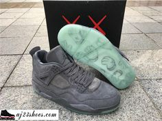 "2e972e8f785 ATHENTIC KAWS X Air Jordan 4 ""Cool Grey"" from aj23shoes.com Kik/skype:  aj23shoes Wechat/snapchat: aj23shoes1 YouTube: aj23shoes ..."