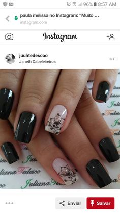 Great Nails, Perfect Nails, Love Nails, French Manicure Nails, Manicure And Pedicure, Classic Nails, Girls Nails, Stylish Nails, Gel Nail Designs