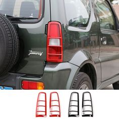 Find More Lamp Hoods Information about New ABS Red Black Rear Light Cover Trim Protector Type Rear Lamp Light cover for Suzuki Jimny 2007 up,High Quality light blue duvet cover,China light post cover Suppliers, Cheap cover book from Mopai Auto Accessories on Aliexpress.com