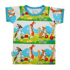 Metsola SS16: Pupu Tupuna SS T-shirt (Summerday) (80 - 134 cm)