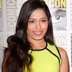 If the ebook FIERY TRAP becomes a Movie: Freida Pinto would play Leena.
