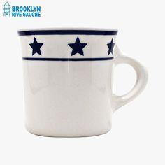Mug, Manhattan blue - Fishs Eddy #LeBonMarche #BrooklynRiveGauche #brooklyn #newyork #ny #nyc #deco #home #maison #vaisselle #dishes