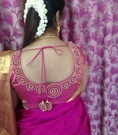 Best Blouse Designs, Simple Blouse Designs, Stylish Blouse Design, Bridal Blouse Designs, Pattu Saree Blouse Designs, Hand Work Blouse Design, Designer Blouse Patterns, Aari Embroidery, Embroidery Designs