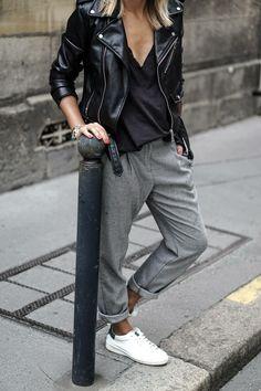 Black street wear