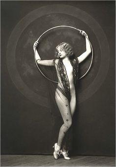 vintage hoop
