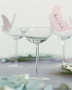 Floaty Butterflies Place Settings