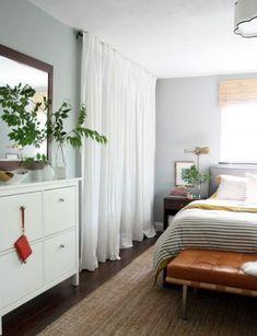 17 Closet Door Ideas for Your Room to Look a Great - Curtain call closet door ideas