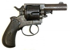 "1890's vintage ""British Bulldog"" revolver in old British .320 caliber. Belgian proof marks on barrel, frame and cylinder."