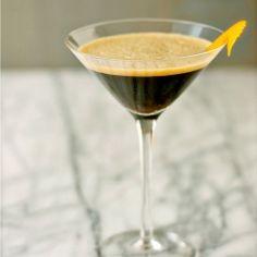 Caffè Shakerato, Italian chilled Espresso Drink, add chocolate syrup ...