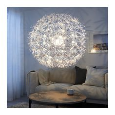 IKEA IKEA PS MASKROS pendant lamp Gives decorative patterns on the ceiling and on the wall.