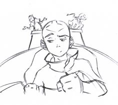 ATLA - Aang: storyboarding by Ian Graham, avatar last airbender