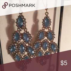 Blue diamond earrings Blue diamond earrings Jewelry Earrings