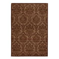 "Anthology 1428 7'10"" x 10'10"" Oxford Rust Area Rug | Nebraska Furniture Mart"