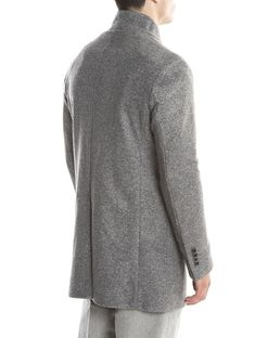 Velour seattle coat in beige | man outerwear | Coat, Beige e