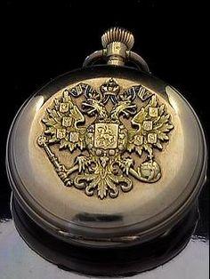 Imperial Presentation Gold Pocket Watch