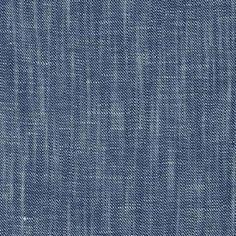 Robert Kaufman Rustica Chambray Twill - Indigo, 59% cotton 41% linen. 142cm…