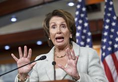 """House Minority Leader Nancy Pelosi said Friday that reporters were """"accomplices"""" with Russia for covering leaked emails and documents related to the Hillary Clinton campaign. The comments from Cali…FIRE THIS IDIOT NOW! DUMBEST WOMAN LIBERAL IN OUR GOVERNMENT!!"""