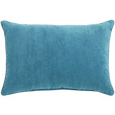 Need some support? Our Lindon Lumbar Pillow has your back. Soft, plush and piped in a corded satin trim, it's both luxuriant and functional. Give your sofa, chair or bed the decorative boost it deserves.