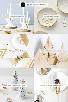 DIY: Jewelry holders | My Paradissi                                                                                                                                                                                 More