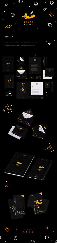 """""""Space Hostel""""   Branding design on Behance"""