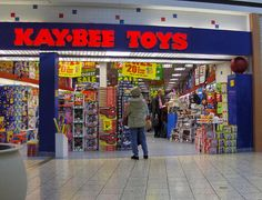 KB Toys. Use to be one at woodville mall
