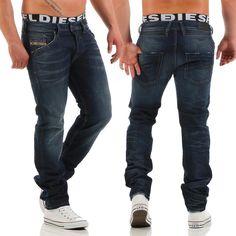 His Jeans Randy Uomo w31//l32 Dark Blue-Regular Fit