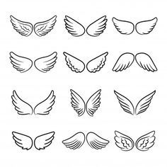 Entdecke tausende in AI- und EPS-Formaten verfügbare Premium-Vektoren Kritzelei Tattoo, Doodle Tattoo, Doodle Art, Halo Tattoo, Loss Tattoo, Cartoon Angel Wings, Angel Wings Drawing, Tiny Tattoos For Girls, Small Tattoos