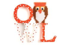 Nicole™ Crafts Wood Letters Owl