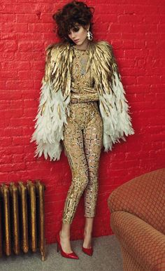 Couture: Freja Beha Erichsen by Inez & Vinoodh for Vogue Paris