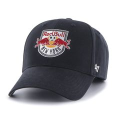 New York Red Bulls Adjustable Hat. Compare prices on New York Red Bulls  Adjustable Hats from top online fan gear retailers. Save big when buying  apparel and ... d5f2222502c