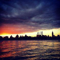 埠頭でブルックリン区, NY