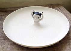 sosuperawesome: Decorative plates by Nathalie Choux