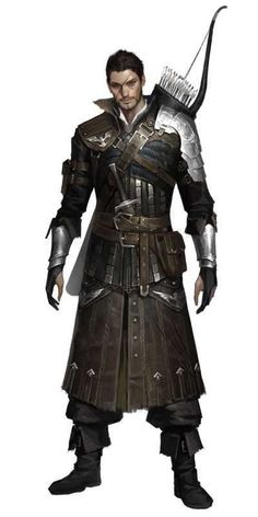 Tagged with art, drawings, fantasy, roleplay, dungeons and dragons; Fantasy Male, Fantasy Armor, Medieval Fantasy, Medieval Archer, Fantasy Character Design, Character Design Inspiration, Character Concept, Character Art, Concept Art