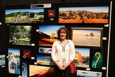 Linda Hannan - SAW artist NZ Art Show 2013 Artist Wall, Nz Art, Fitness Inspiration, Artists, Artist