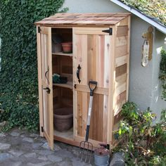 Found it at Wayfair - Garden Chalet 4 Ft. W x 2 Ft. D Wood Lean-To Shed