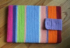 Crochet Laptop Case by Cara Matocha, via Flickr