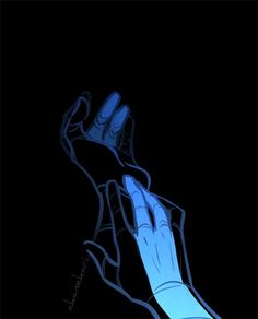 Finger stripes. Nightwing. Dick Grayson. <3