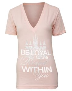 Front: Be loyal to the royal within you Back: Join the DynASTy I love this!