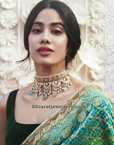 Best Trendy Outfits Part 21 Indian Wedding Jewelry, Indian Bridal, Indian Jewelry, Tiffany Jewelry, Indian Dresses, Indian Outfits, Bandhani Saree, Bollywood Celebrities, Indian Celebrities