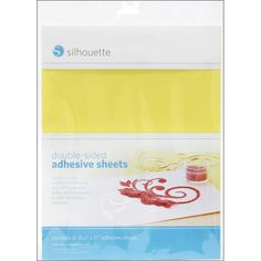Silhouette America Inc Double-Sided Adhesive Sheets