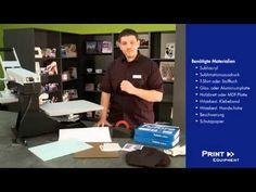 Acrylglas / Fotoaufsteller / Sublicrylic mit Sublimation bedrucken - YouTube