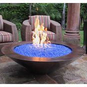 48 Tacora Auto Ignition Commercial Fire Pit - Copper