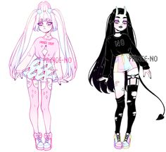 pastel goth adopts | closed by prince-no on DeviantArt