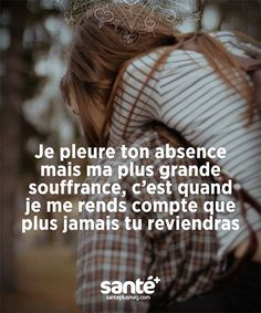Sad Quotes, Words Quotes, Love Quotes, Tu Me Manques, Quote Citation, French Quotes, Bad Mood, Some Words, Positive Attitude