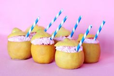 Make these Pink Lemonade Cupcakes for your next party.