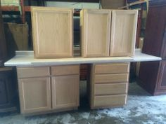 Nice Lot of Counter Tops and Cupboards